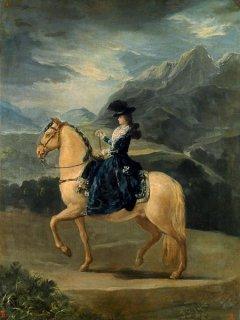 マリア・テレジアの乗馬図