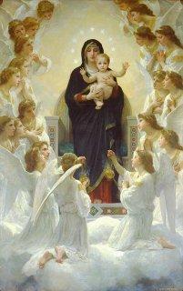 聖母と天使