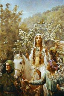 グイネヴィア女王の五月祭の花摘み