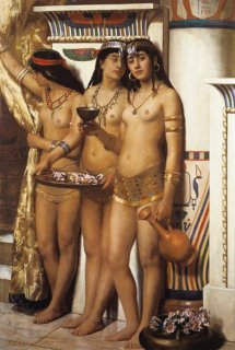 ファラオの女官達