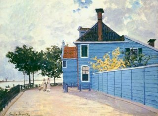 ザーンダムの青い家