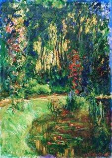 ジヴェルニーの睡蓮の池