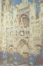 日没のルーアン大聖堂