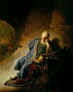 預言者エレミア  原画同寸