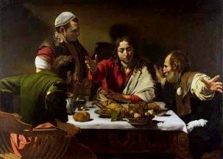 エマオの晩餐(ロンドン・ナショナル・ギャラリー作品)