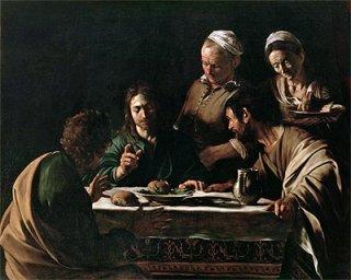 エマオの晩餐(ブレラ美術館作品)