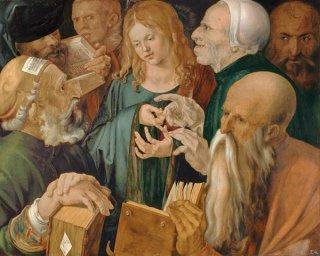 博士たちの間のキリスト