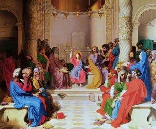 博士たちと議論するキリスト