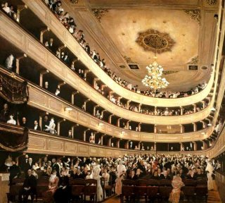 旧ブルク劇場の観客席