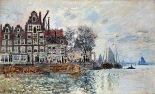 アムステルダムの港