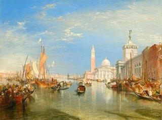 ヴェネツィア:税関舎とサン・ジョルジョ・マジョーレ