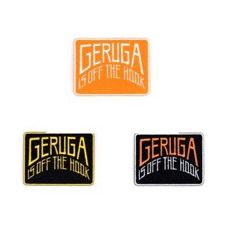 【GERUGA】CUSTOM WAPPEN -GERUGA IS OFF THE HOOK- (カスタムワッペン -GERUGA IS OFF THE HOOK-)