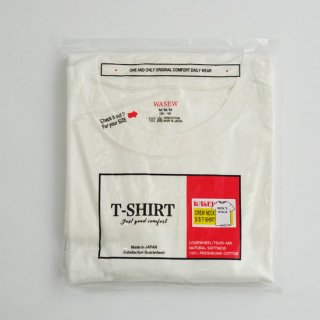 【WASEW】CREW NECK S/S PACK TEE (クルーネック ショートスリーブパックT)