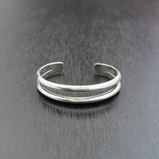 【LOST CONTROL】Silver Bangle -Double- (シルバーバングル ダブル)