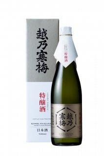 越乃寒梅 生モト系酒母柱焼酎仕込 特醸酒720ml
