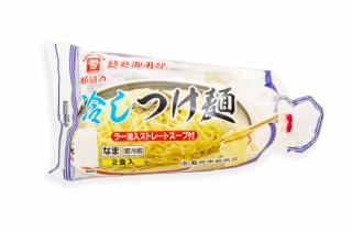 麺処御用邸 那須の冷しつけ麺(ラー油入ストレートスープ)