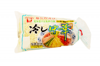 麺処御用邸 冷し中華(特製スープ)