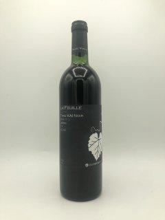 LA FEUILLE TARU KAI NOIR 2016<br>(まるき葡萄酒)750ml