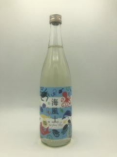 【 初夏にピッタリ!! 】<br>海風土 sea food blue 純米<br>(今田酒造)720ml