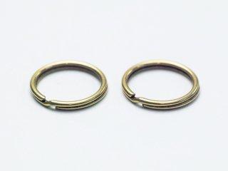 真鍮製二重リング[研磨加工済]
