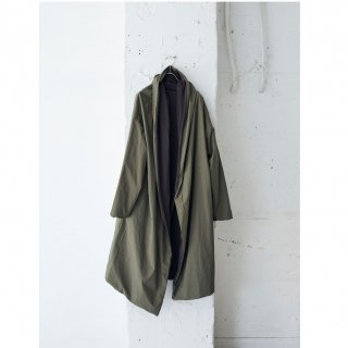 cloth&jersey-reversible coat