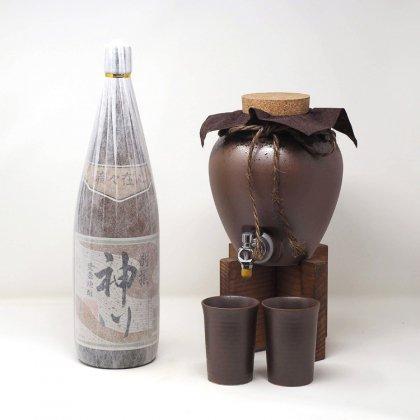 別選神川(1800ml)+一升甕セット
