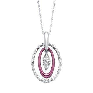 日本初 紫色の18金 【送料無料】 プレゼント にも最適  プラチナ・K18 パープルゴールド ダイヤモンド ペンダント ネックレス ゴージャス おしゃれ