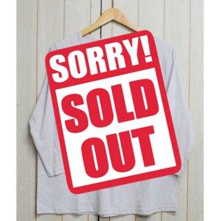 【訳ありSALE】グレーのみのため特価★Uネック 長袖Tシャツ クルーネックカットソー 大きいサイズ<M/L/LL/3L/4L/5L>