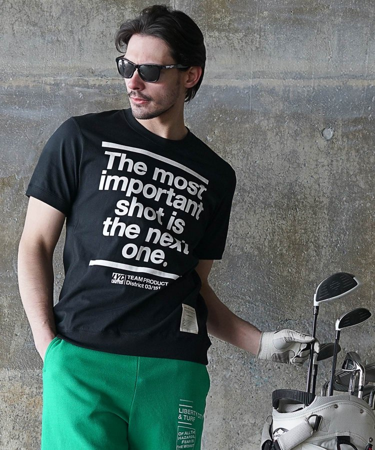 【LIBERTY CITY/リバティーシティ】 [IMPORTANT SHOT] スウェット風Tシャツ