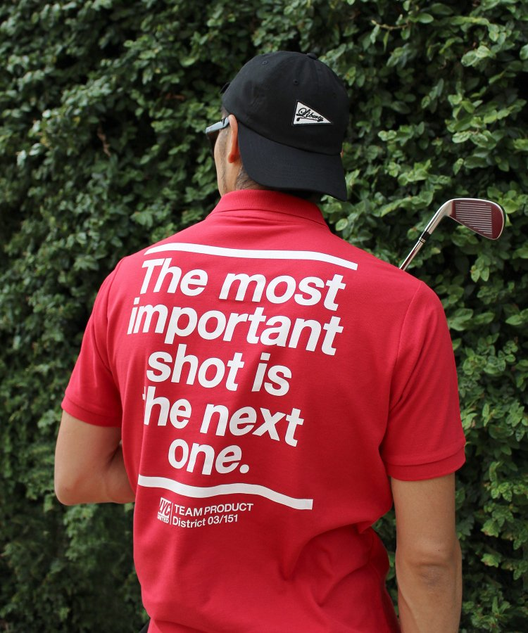 【LIBERTY CITY/リバティーシティ】 [THE MOST IMPORTANT SHOT] ドライポロシャツ