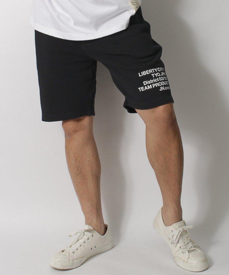 【LIBERTY CITY/リバティーシティ】 ロゴ・スウェット・ジョガーショートパンツ