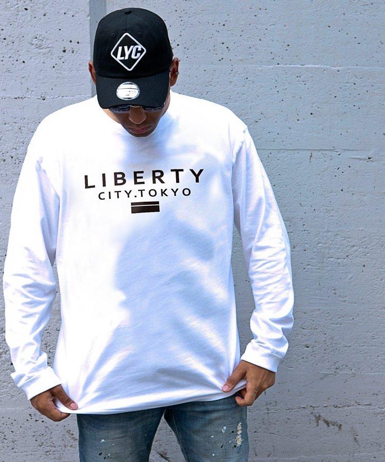 【LIBERTY CITY/リバティーシティ】 [LIBERTY CITY TOKYO] ロンT