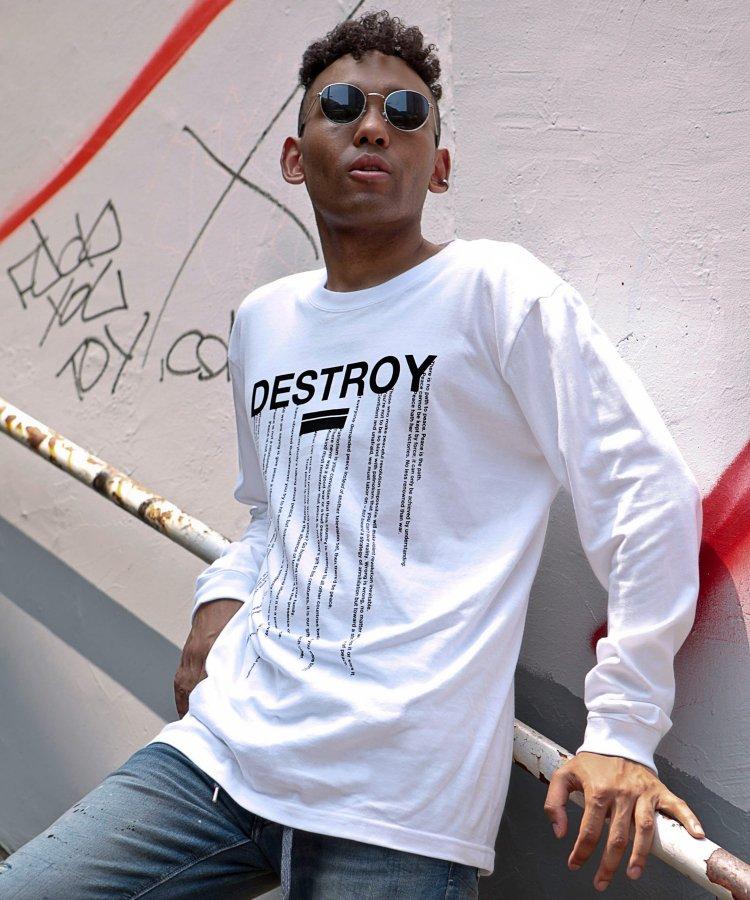 [DESTROY] ロングスリーブTシャツ