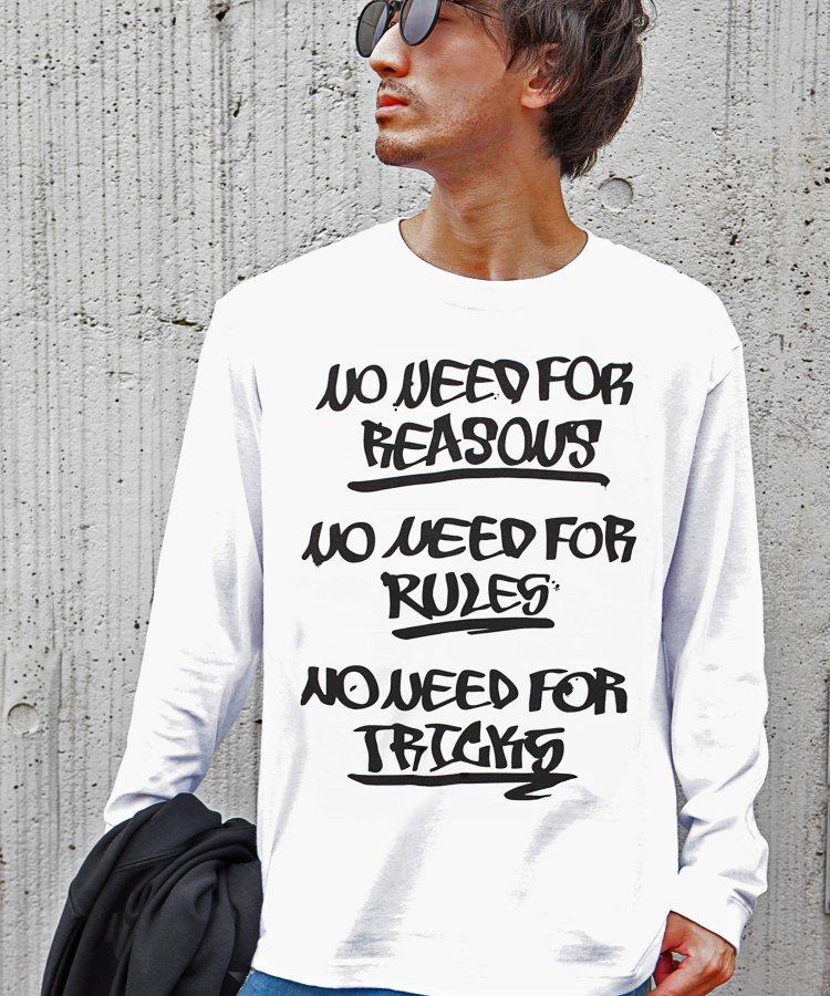 [NO NEED FOR] ロングスリーブTシャツ