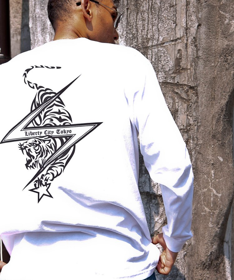 [TIGER & STAR] ロングスリーブTシャツ