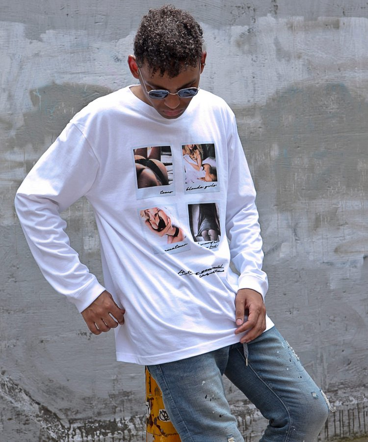 [ANYTHING YOU WANT!] ロングスリーブTシャツ