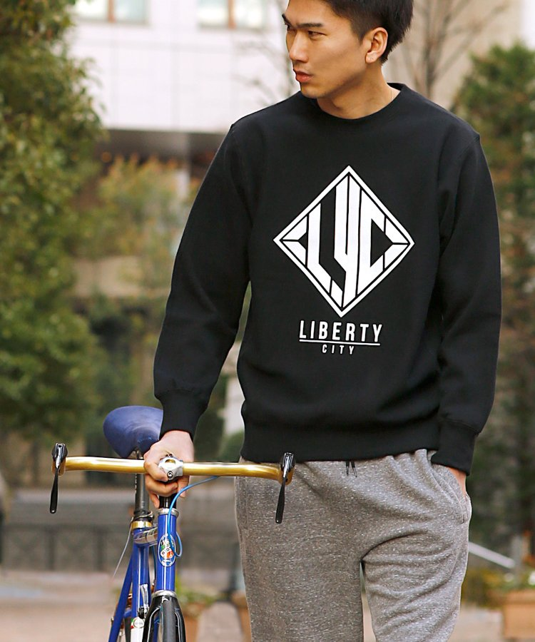 【LIBERTY CITY/リバティーシティ】 [LYC] スウェット クルーネック<img class='new_mark_img2' src='https://img.shop-pro.jp/img/new/icons41.gif' style='border:none;display:inline;margin:0px;padding:0px;width:auto;' />