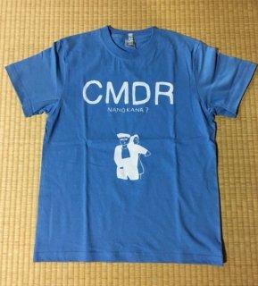 チミドロ「なのかな?Tシャツ」ほんわかブルー