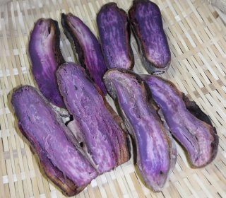 石焼き芋の干し芋(紫芋150g)