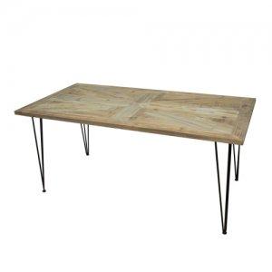 KOZAIダイニングテーブル ユニオンジャック柄W1600
