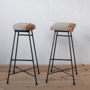 SK STOOL HIGH/TWO TONE/SKハイスツール/ツートン(丸・四角)<img class='new_mark_img2' src='https://img.shop-pro.jp/img/new/icons61.gif' style='border:none;display:inline;margin:0px;padding:0px;width:auto;' />