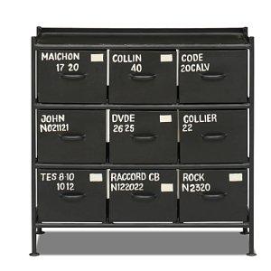 スチールチェスト<ienowa/9杯引出チェスト MSG BK色>[送料無料]<img class='new_mark_img2' src='https://img.shop-pro.jp/img/new/icons61.gif' style='border:none;display:inline;margin:0px;padding:0px;width:auto;' />