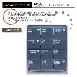 スチールチェスト<ienowa/縦型12杯引出チェスト MSG GY色>[送料無料]<img class='new_mark_img2' src='https://img.shop-pro.jp/img/new/icons61.gif' style='border:none;display:inline;margin:0px;padding:0px;width:auto;' />