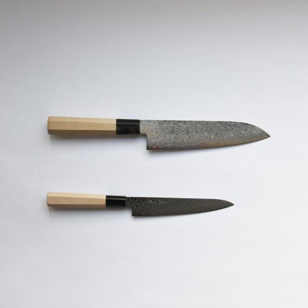 三寿ゞ刃物製作所の積層の包丁