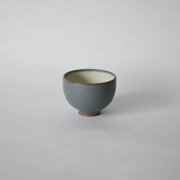 雅峰窯(丹波焼) ラテボウル・灰色