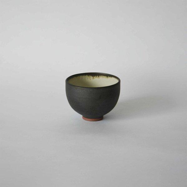 雅峰窯(丹波焼) ラテボウル・黒