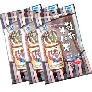 室戸深層水使用 韃靼そば茶 200g×3袋