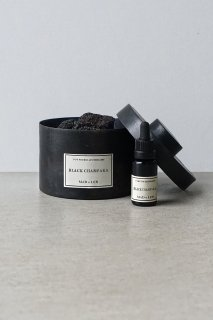 Pot Pourri d'Apothicaire BLACK LAVA ROCK -  BLACK CHAMPAKA - 300g