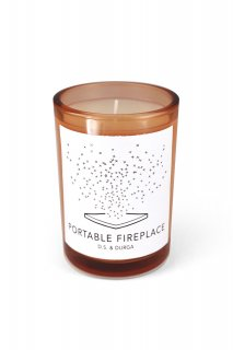 PORTABLE FIREPLACE - PERFUMED CANDLE