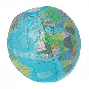 地球儀 紙風船:Lサイズ<br/>